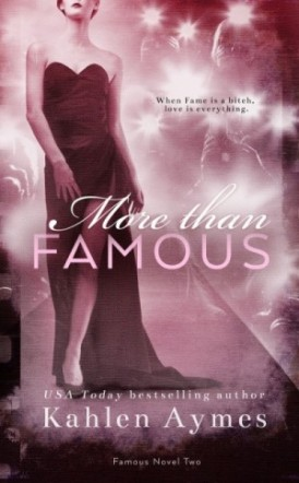 """""""More Than Famous"""" Cover Reveal/ Giveaway**"""