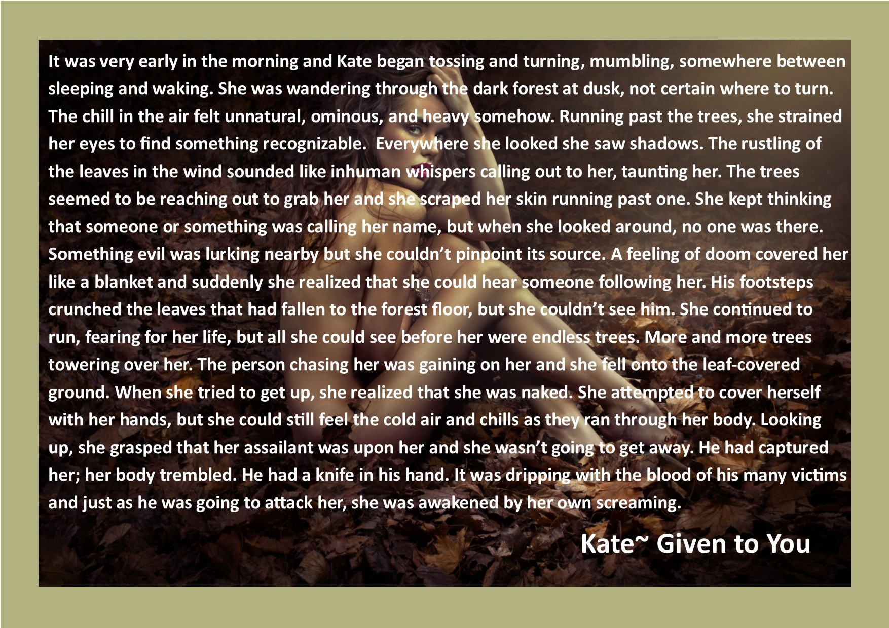 Kates forest dream