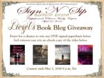 """Sip & Sign"" Event Review by Micah And Look! There's a Giveaway**"