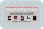 Lovely Ladies & Naughty Books Event Review/ SIGNED Giveaway**