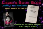 Rebels & Readers Event Review/ Giveaway**