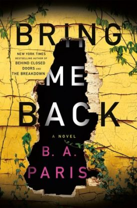 Bring Me Back Book Review